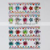 Stick On Self Adhesive Clear Gems Star Acrylic Sticker Crystal Sticker