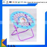 Kids bungee folding chair/ round bungee chair