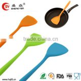 colorful FDA silicone colorful silicone heat resisiant protable truner with stainless steel                                                                         Quality Choice