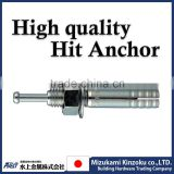 Anchor bolt to install for hardware , vending machine , plumbing etc