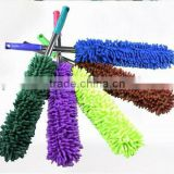 Cleaning Chenille Car Duster,Orange Microfiber Cleaning Duster