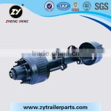 High Quality German Spoke Type Axle For Semi-trailer