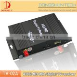 Hot sell ATSC-MH car tv tuner digital with 4video input