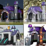 halloween inflatable haunted house, inflatable haunted houses