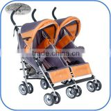 popular cheap twin baby stroller double pram 3012T