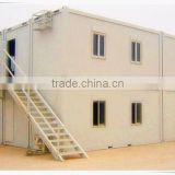 2 floors prefabricated hut made in china