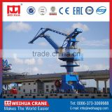 WEIHUA Continuous Working four link shipyard portal gantry crane