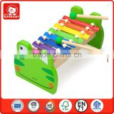 alibaba china suppliers 2014 frog style plastic snap rivet 8 keys wood factory making musical instruments children use