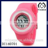 bright colors soft silicone digital watch multi functional-fashion silicone digital watch for children