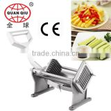 multifunctional manual Stainless steel vegetable cutter potato chips and french fries with CE