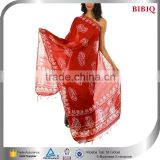 sexy african printed dresses flower fancy dress costumes tie dye dupatta scarf stole dupatta summer dress for fat woman