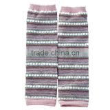 Wholesale Stylish Christmas Kids Leg Warmers,Cotton Warm Kids leggings Striped Cotton Leg Warmers