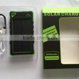 Climber hooking solar charge power bank 8000mAh