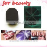 2015 new wholesale alibaba press on 3D art nail ,magnetic nail art magnet design