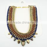 short colorful statement necklaces