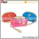 China supplier transparent pvc cosmetic bag hanging makeup case