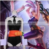 Online Game LOL Cosplay the Exile Riven Cosplay Costume Bunny Costume Easter Day Halloween Costumes for Women One Size