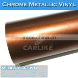 SINO CARLIKE 1.52x20M 5FTx65.6FT Professional Matt Ice Brown Automotive Metallic Paint Colors