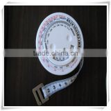 2015 new measuring tool tailor sewing clothes measure tape flexible ruler 150CM with calculator for promotion HW05007