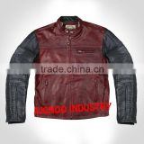Ronin | Oxblood Brown Leather Motorcycle Jacket