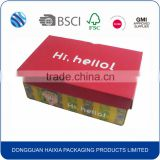 OEM&ODM supplier cardboard paper giant shoe storage box wholesale