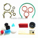 Various colours plastic and rubber parts/grommet and washer with low price