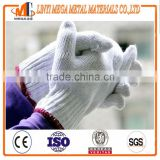 hot sale cotton knitted working gloves china supplier 7 guage 10 guage cotton knitted working safety gloves