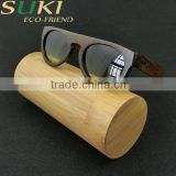 Explosion models sold 100% nutural handmade sunglasses bamboo with case
