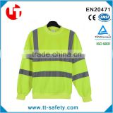cheap wholesale long sleeve safety reflective work uniform shirt with custom imprint