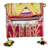 Buy Hand Embroidered Ladies Handbags / Purse / Clutch Online