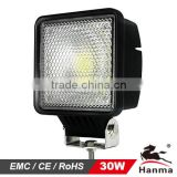 LED Work Light for Construction Machinery 30W 2600LM (HML-0330)