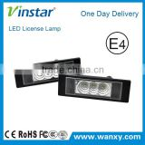 Wholesale auto part for Fiat led license plate light for Multipla for Marea Benzina/ Diesel/ Marea Bz Gamma