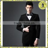 Double Breasted Slim Fit Wool Suit For Men