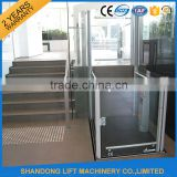 2.5m home hydraulic lift elevator with good price
