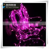 Beautiful Purple color vine tree led copper wire christmas string lights