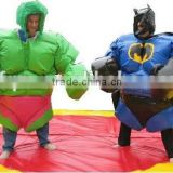 sumo suits,sport game Type and PVC,PVC tarpaulin with cotton inside Material inflatable wrestling sumo suits for kids&adults