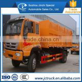 The popular Waste compression station howo ZZ 4x2 even joint garbage truck Promotion price