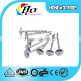 Hot sale e-galvanized umbrella head roofing nails export to Africa                                                                         Quality Choice