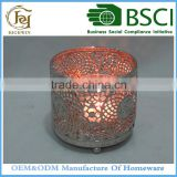 Metal Candle Holder Tealight Insert with glass cup                                                                         Quality Choice