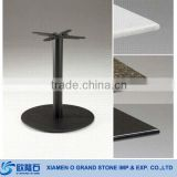 Stainless Steel Stone Marble Dining Table Base