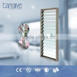 2016 top supplier Tansive construction pictures aluminum exterior decorative window shutters