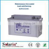 factory directly sale solar battery 12v 300ah