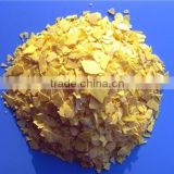 Hot sale!!China manufacturer Baijin 70% yellow flake NaHS industrial sodium hydrosulfite msds