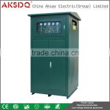 Wholesale New Type Full Copper AKSAY SBW 300Kva Automatic Three Phase Compensated Power AC Voltage Regulator
