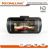 GPS WIFI dual camera full HD detached car DVR built-in microphone and speaker dual camera camcorder