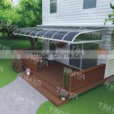 2015 decorative small aluminum window awning