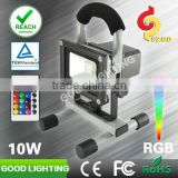 10w IP65 waterproof modern bedroom sets RGB work lamp with IR control
