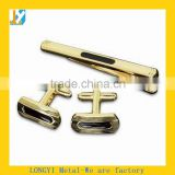 Customize metal cufflink and tie pin, cufflinks and tie clips for gifts of cufflink blanks