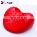 factory direct sell cheap price spa bath pillow/ heart shape sweet bathroom pillow/ bathroom pillow eco-friendly
