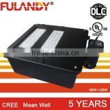 USA Canada led shoe box lights 100w 120w 150w 180w 200w with DLC UL led shoe box lights